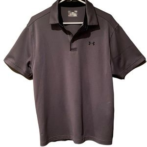 Under Armour Grey Loose Heat Gear Shortsleeved Shirt Size Large